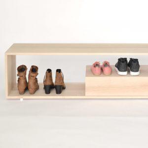 Sitzbank Step, verschiedene Holzarten / Bench Step, different Types of wood